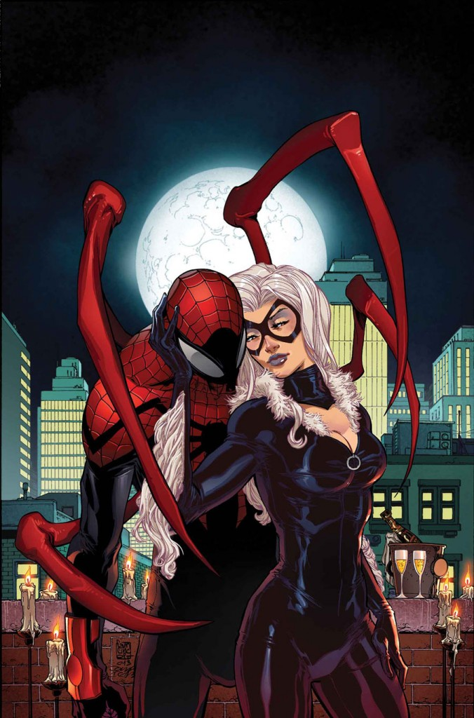 Spider man and black cat 676x1024 Spider man and black cat