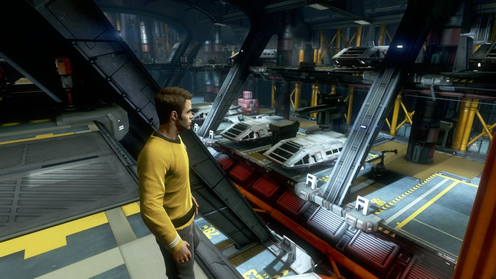 how many shuttles would they need 1024x576 Star Trek Video Game Screenshots