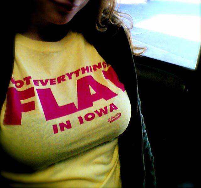 not everything is flat in iowa not everything is flat in iowa