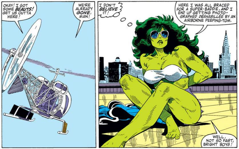 she hulk has had topless pictures taken without her permission she hulk has had topless pictures taken without her permission