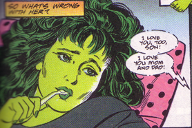 she hulk whats wrong with her she hulk   whats wrong with her