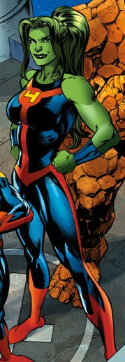 she hulk with FF and the THING she hulk with FF and the THING