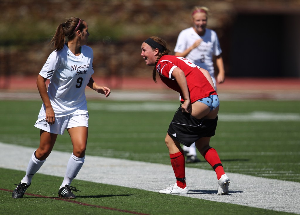 SIUE's Kristen Dailey loses her shorts 1024x733 SIUE's Kristen Dailey loses her shorts