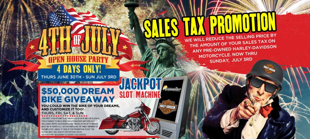 Sales Tax Promotion on the 4th 1024x461 Sales Tax Promotion on the 4th