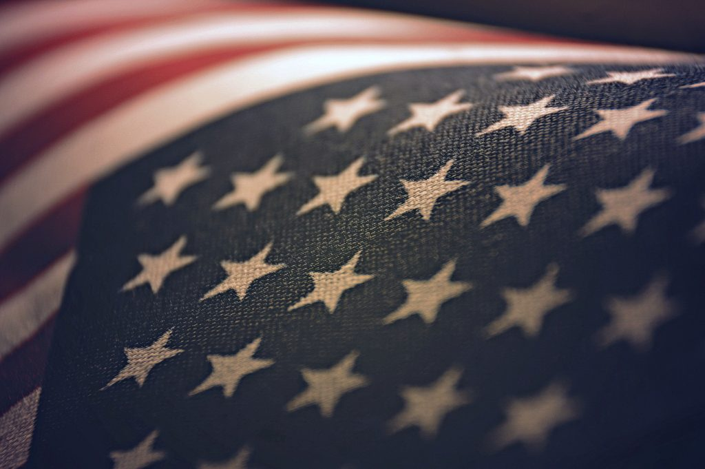 American Flag within focus 1024x681 American Flag within focus