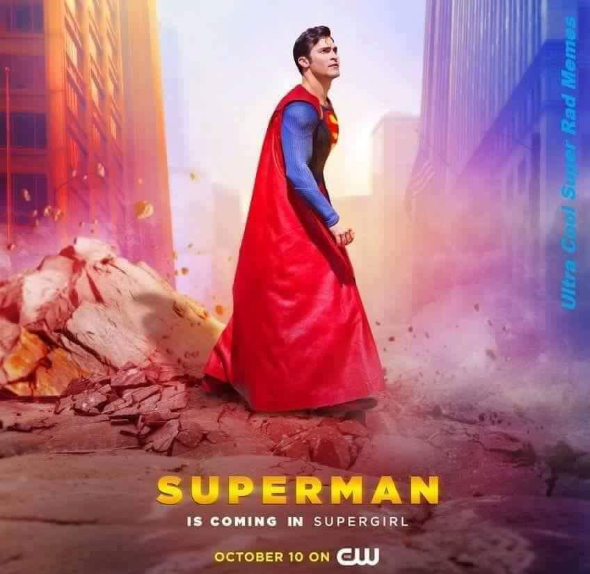 Superman is coming in Supergirl Superman is coming in Supergirl