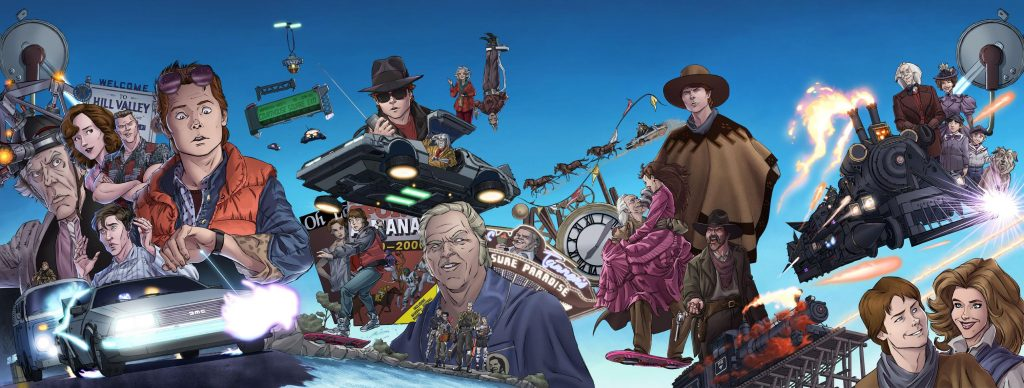 The Back to the Future Trilogy wallpaper 1024x388 The Back to the Future Trilogy wallpaper
