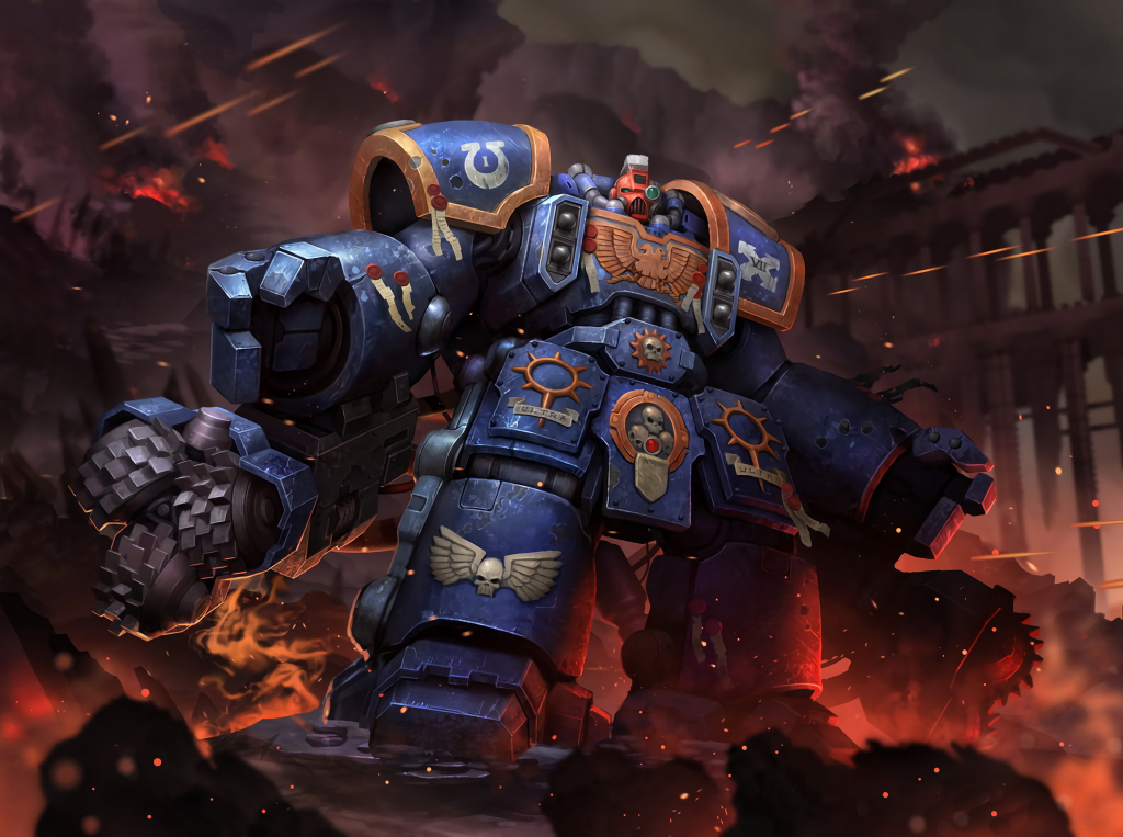 Warhammer space marine with optional tacticool attachments 1024x763 Warhammer space marine with optional tacticool attachments