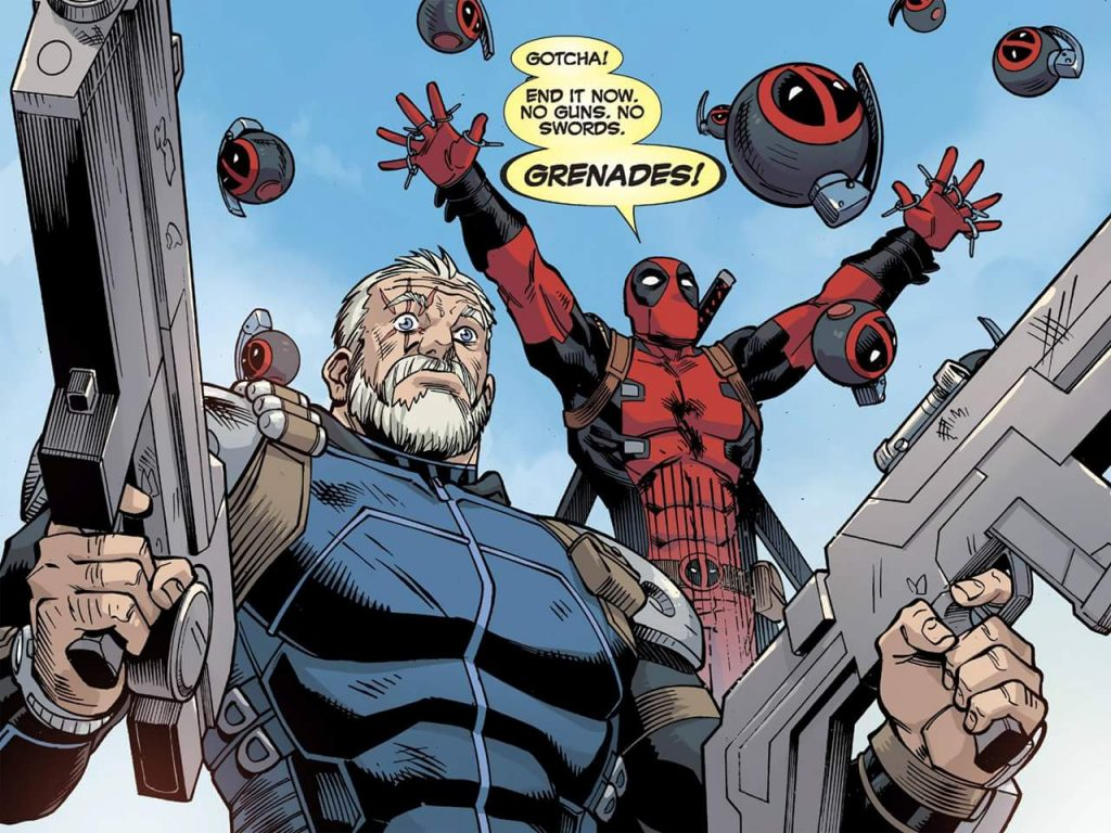 deadpool ends things with grenades 1024x768 deadpool ends things with grenades
