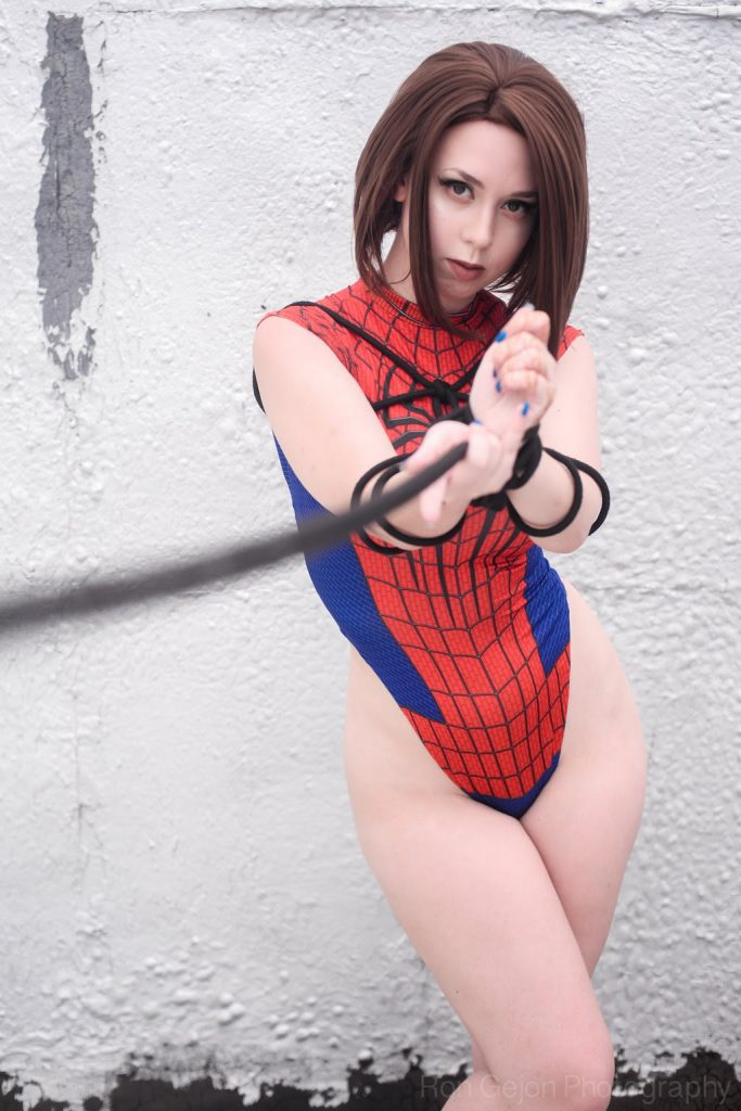 Spider Girl Angelica 002 683x1024 Spider Girl by Angelica
