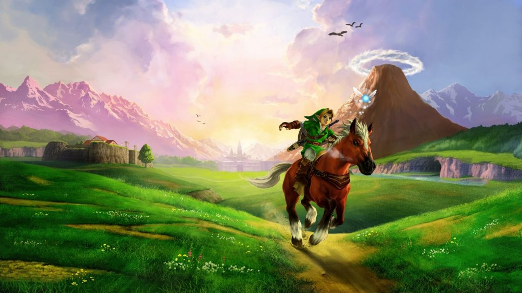 Link on a horse 1024x576 Link on a horse