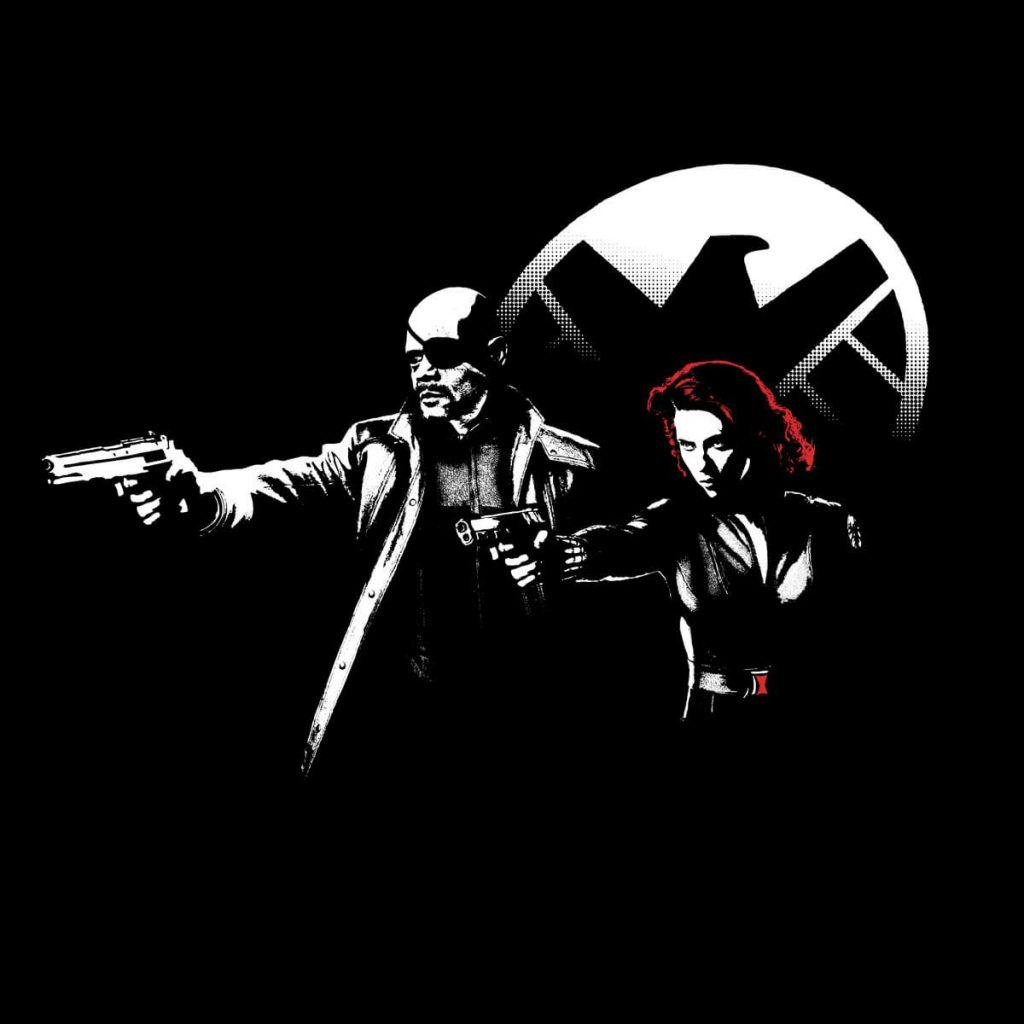 Nick Fury and Scarlet Witch 1024x1024 Nick Fury and Scarlet Witch