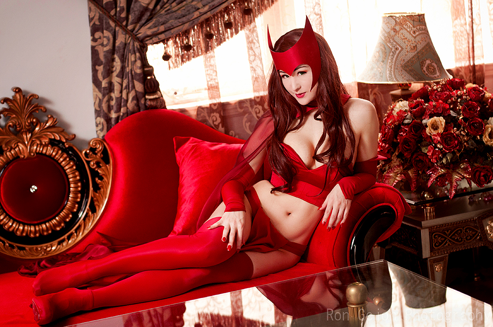 Mostflogged as the Scarlet Witch Mostflogged as the Scarlet Witch