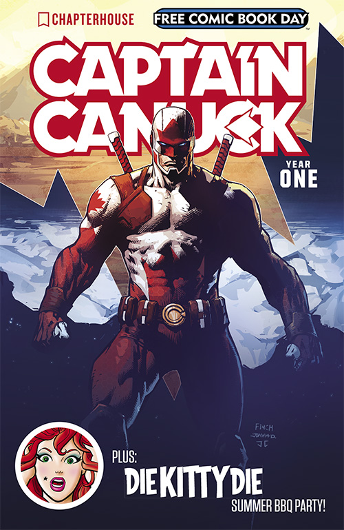 Captain Canuck is all ripped Captain Canuck is all ripped
