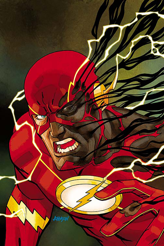 The flash is wasting away