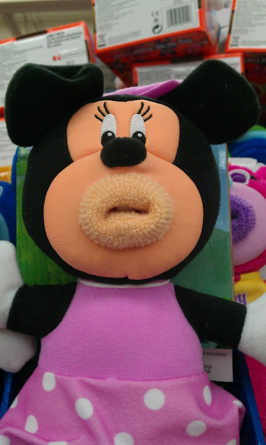 Creepy Minnie Mouse Toy Creepy Minnie Mouse Toy