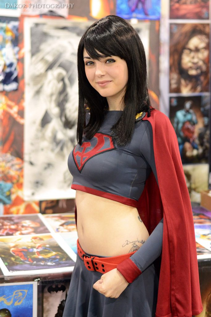 Elizabeth Wither is Red Son Supergirl