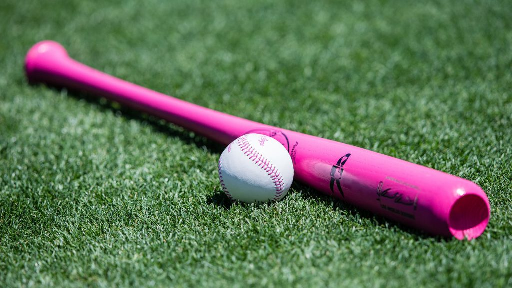 Pink mother's day bat