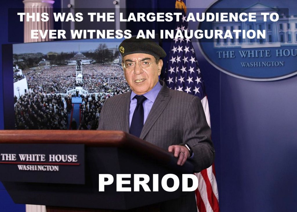 The largest audience.  period.