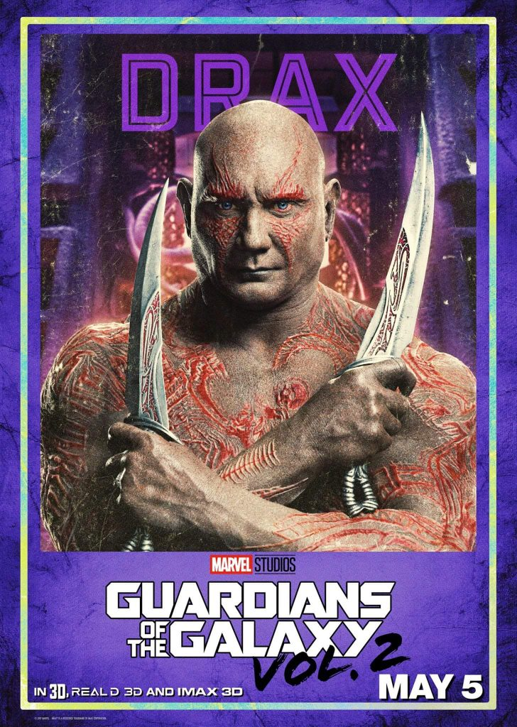17436339 1290201137761572 4330847536197329149 o 728x1024 Guardians of the Galaxy Vol 2 Character Posters