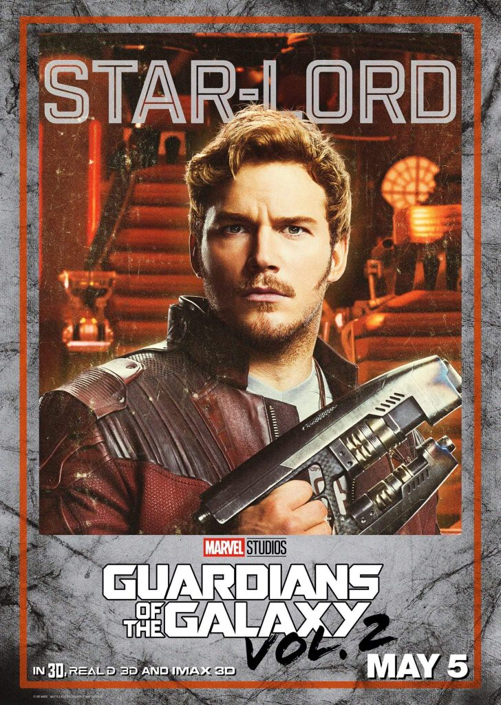 17492835 1290201391094880 7844883218862373976 o 728x1024 Guardians of the Galaxy Vol 2 Character Posters