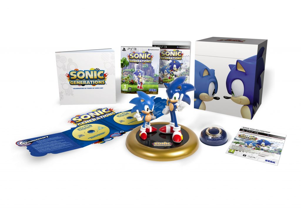 Sonic Generations Collectors Edition 1024x709 Sonic Generations Collectors Edition
