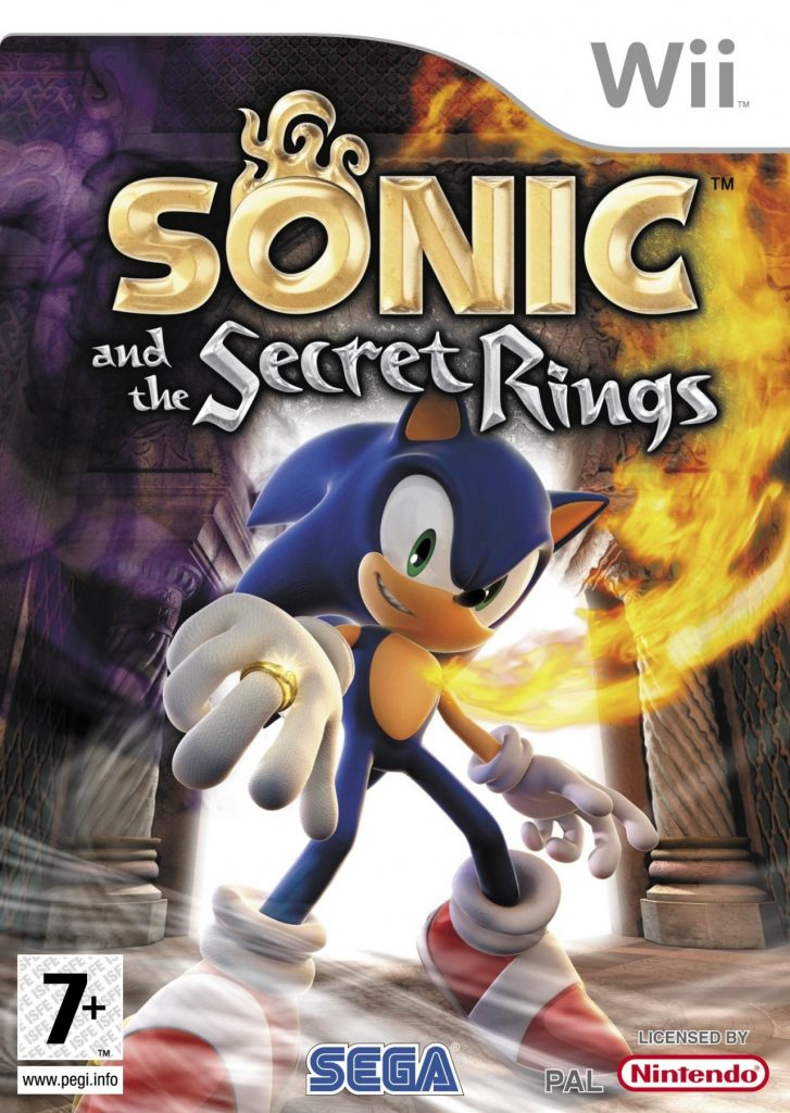 Sonic and the Secret Rings cover 727x1024 Sonic and the Secret Rings cover