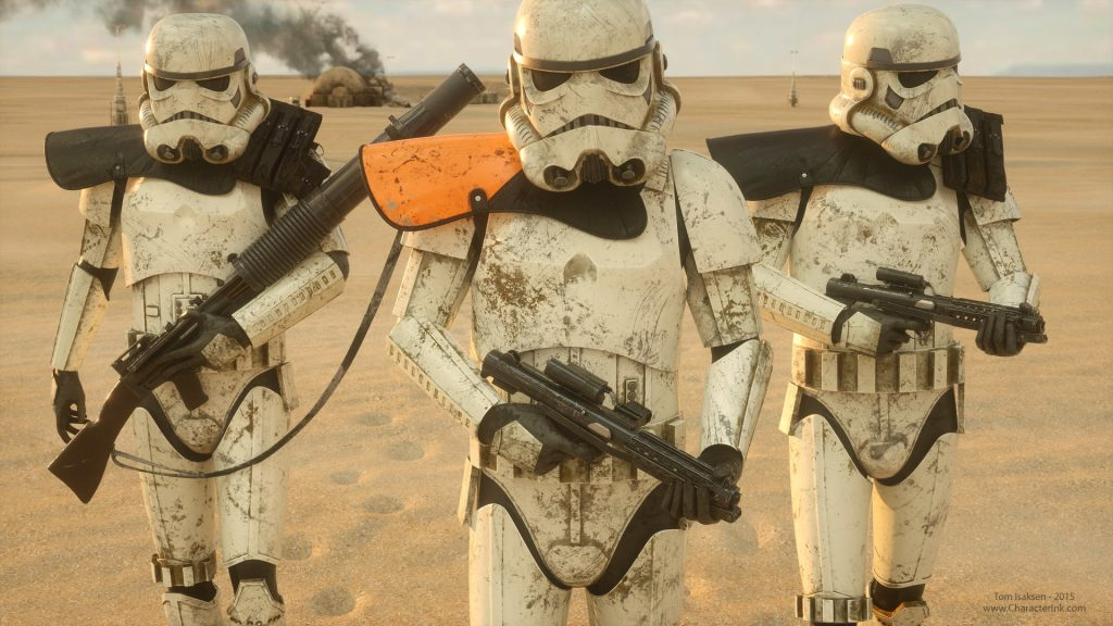 Storm Troopers in the sand 1024x576 Storm Troopers in the sand