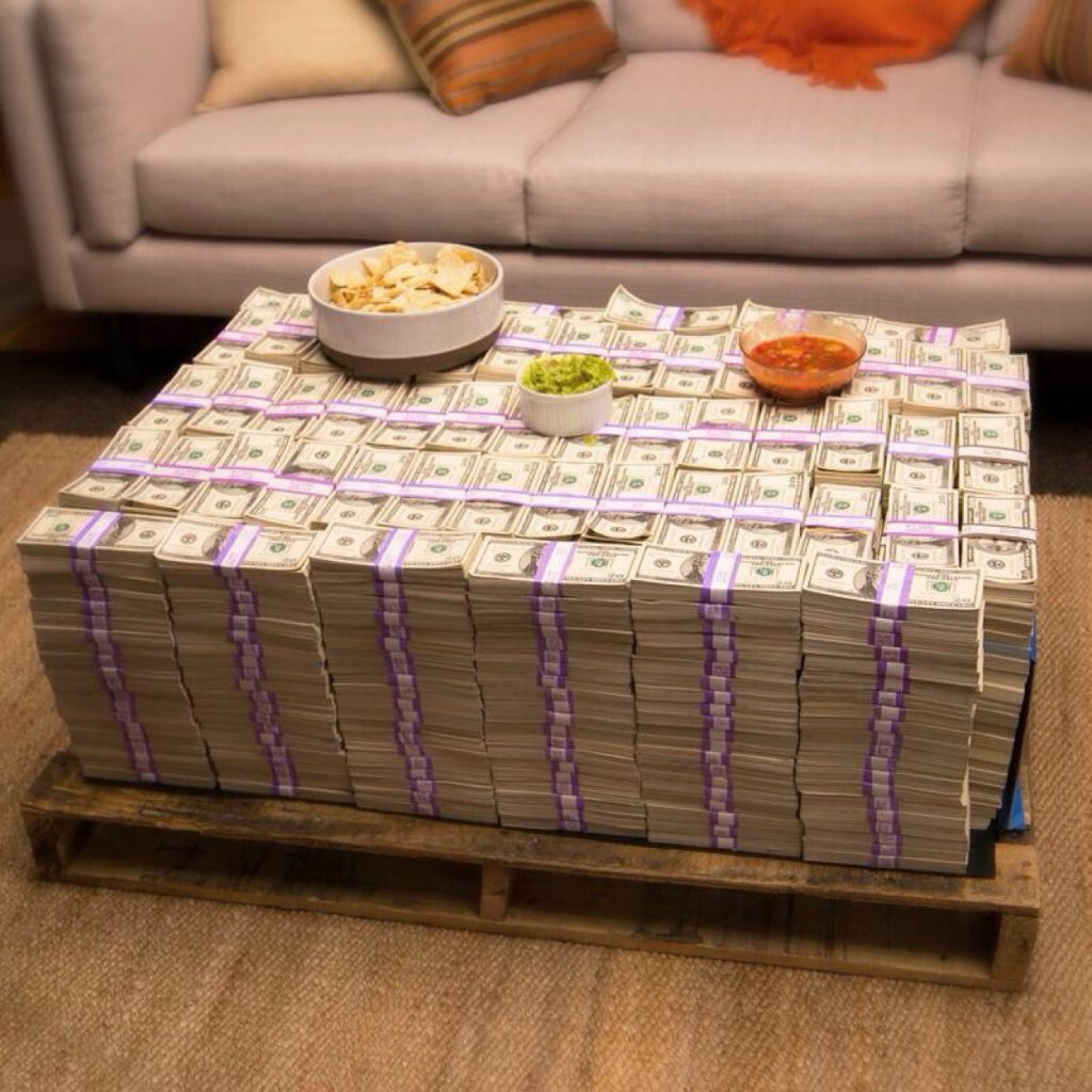An Expensive coffee table