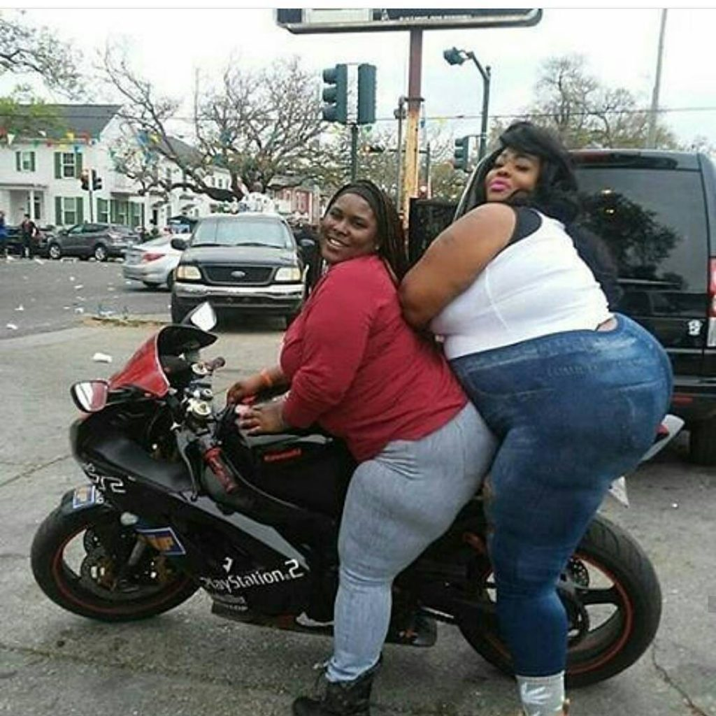 Overweight Black Women on a motorcycle 1024x1024 Overweight Black Women on a motorcycle