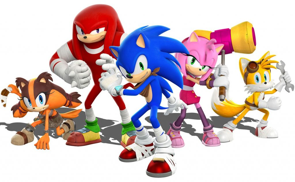 Sonic and his friends