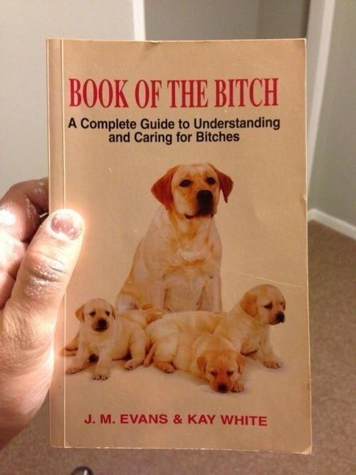 Book of the Bitch Book of the Bitch