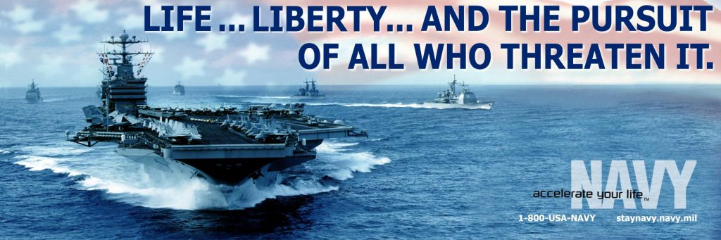 Life, Liberty and the pursuit – NAVY