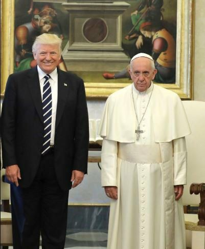 The Anti christ meets the Pope The Anti christ meets the Pope