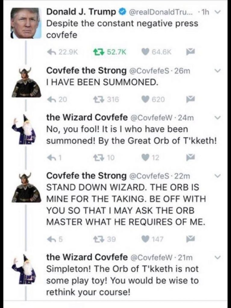 Covfefe the Strong 767x1024 Covfefe the Strong