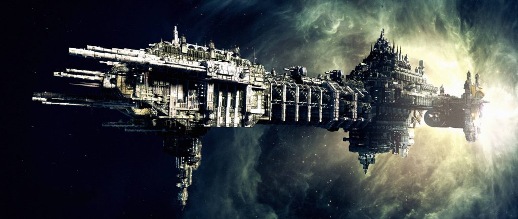 Gothic Space Ship 1024x433 Gothic Space Ship
