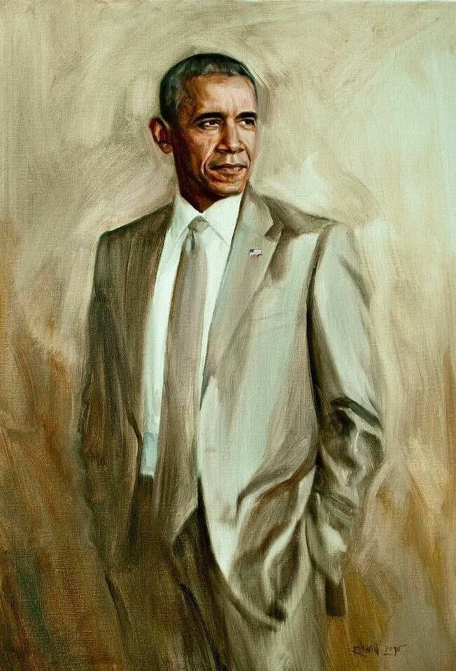 Official Portrait of the Greatest President of All Time Official Portrait of the Greatest President of All Time