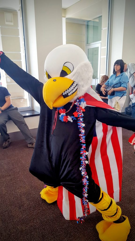 Eagle Cosplayer