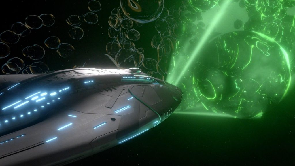 The Orville vs some Green Shit
