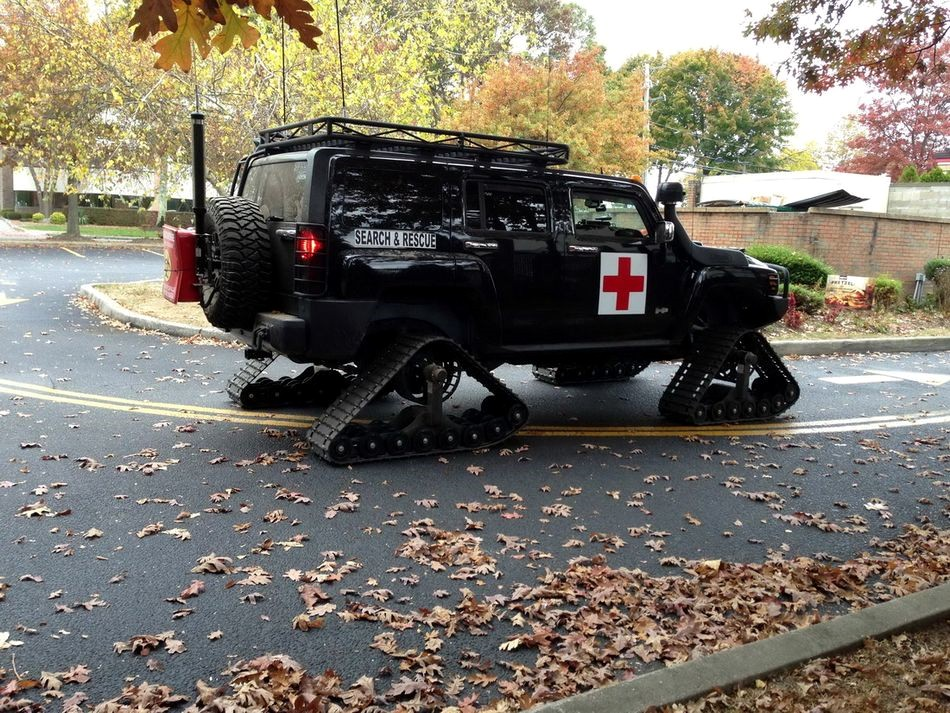 Tracked Rescue Vehicle