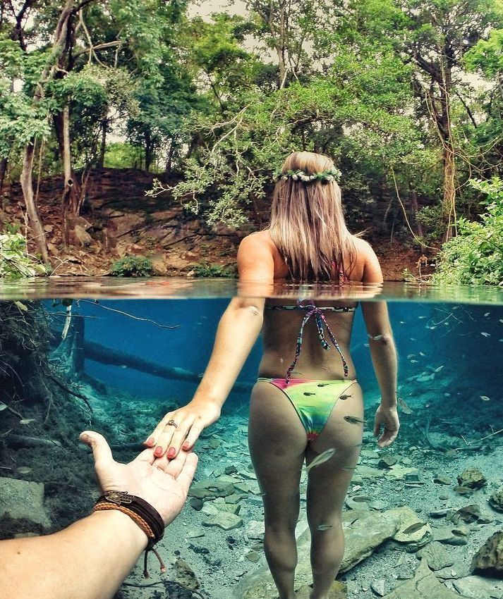 come with me to the lake