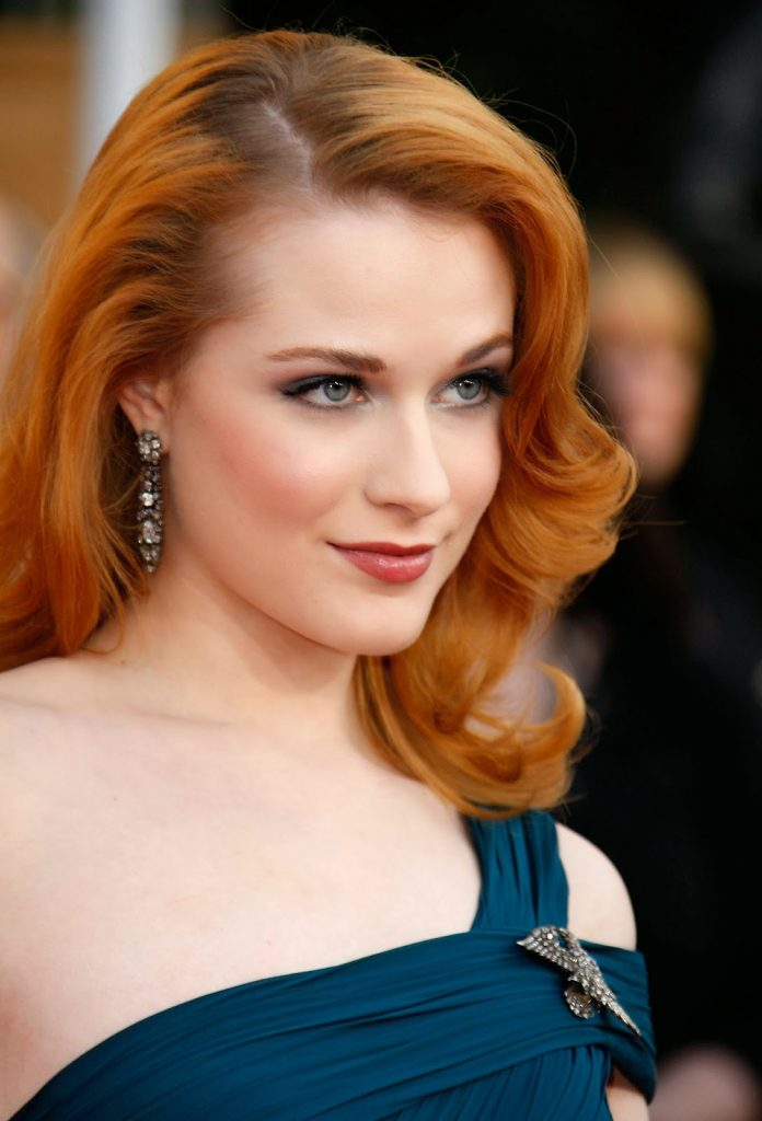 Evan Rachel Wood as a red head
