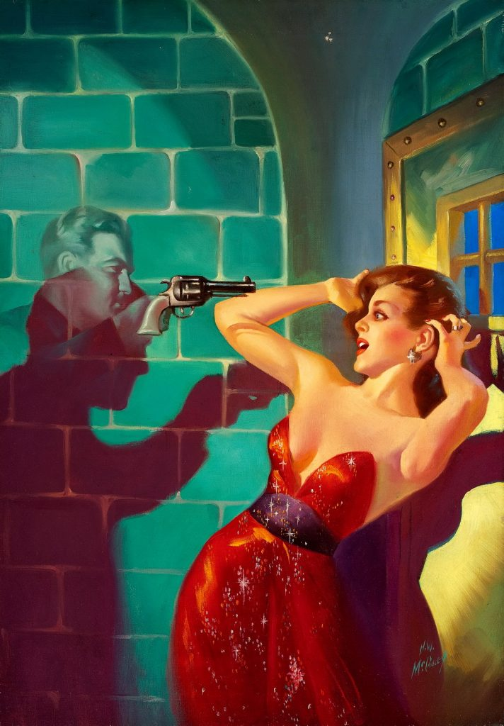 Ghost Hold Up by Harold McCauley