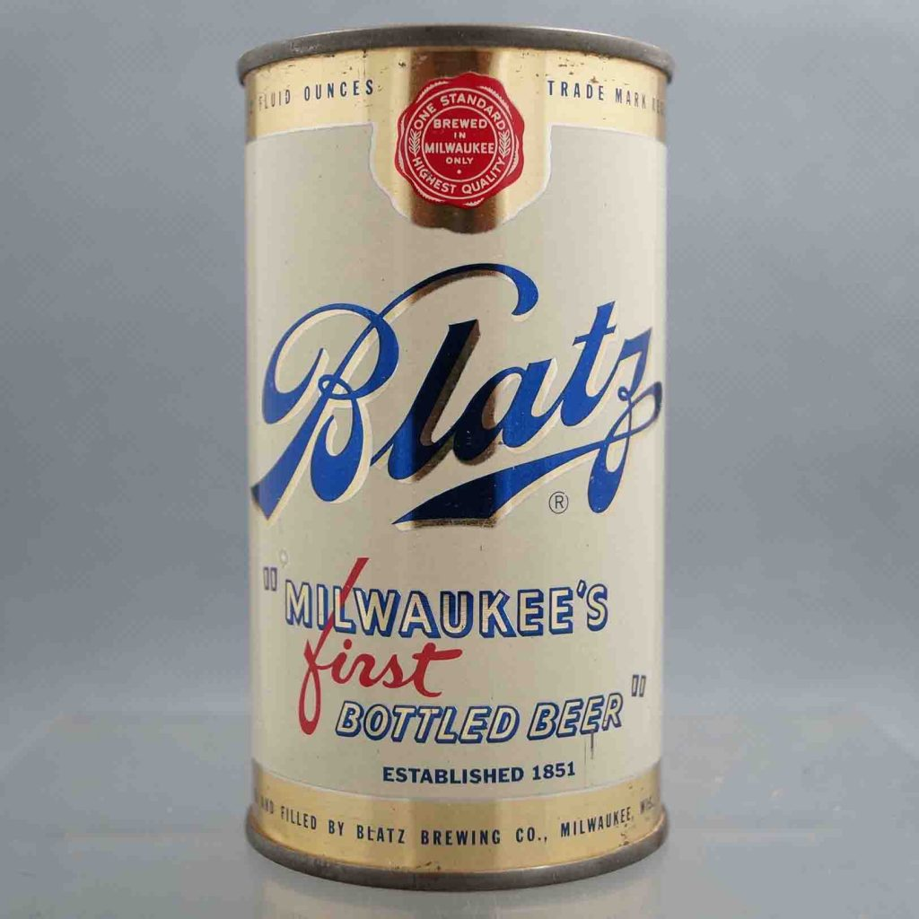 Blatz – First Bottled Beer in a Can