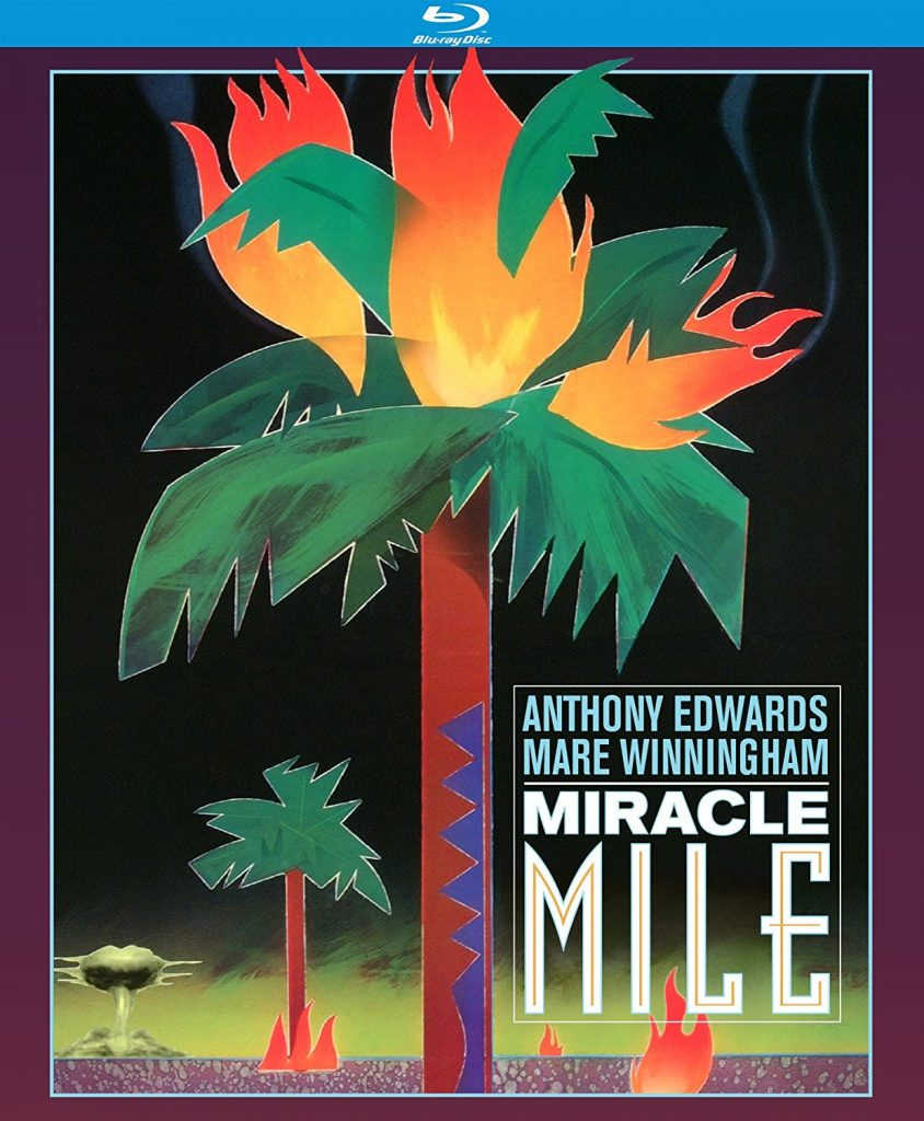 Miracle Mile Blu Ray Disc Cover
