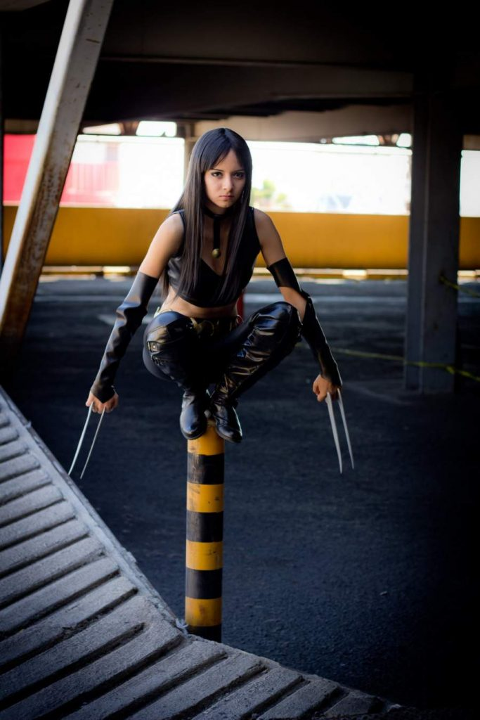 x-23 on a post