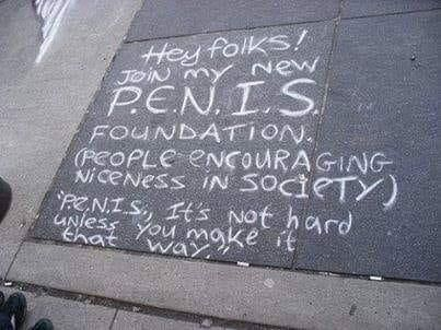 Join my new PENIS Foundation