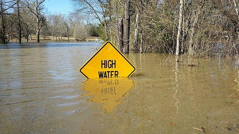 High Water Sign High Water Sign