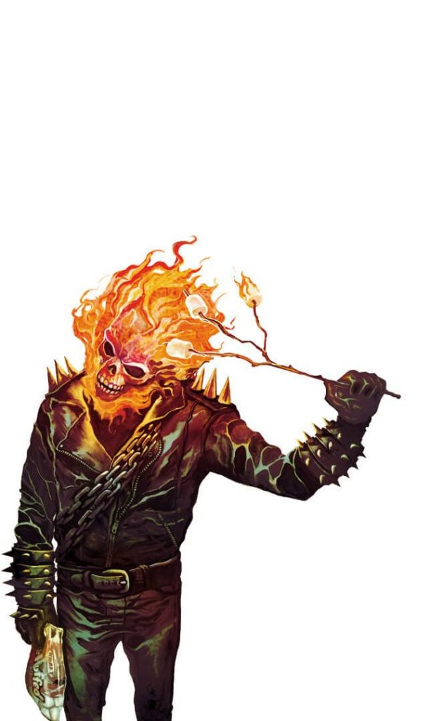 Ghost Rider by Mike Del Mundo 631x1024 Ghost Rider by Mike Del Mundo