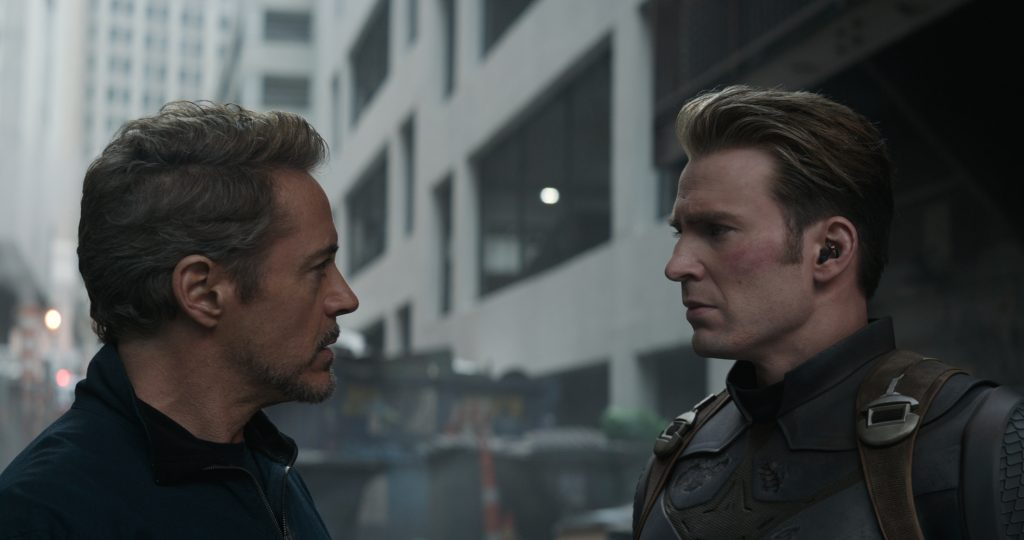Stark and Rogers having a discussion 1024x540 Stark and Rogers having a discussion